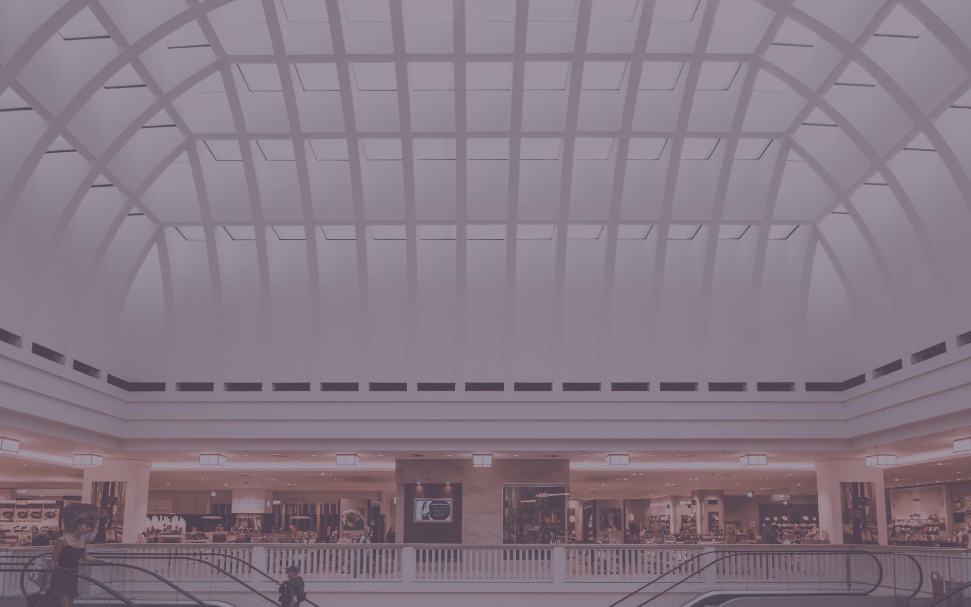 Denmark's major shopping centres