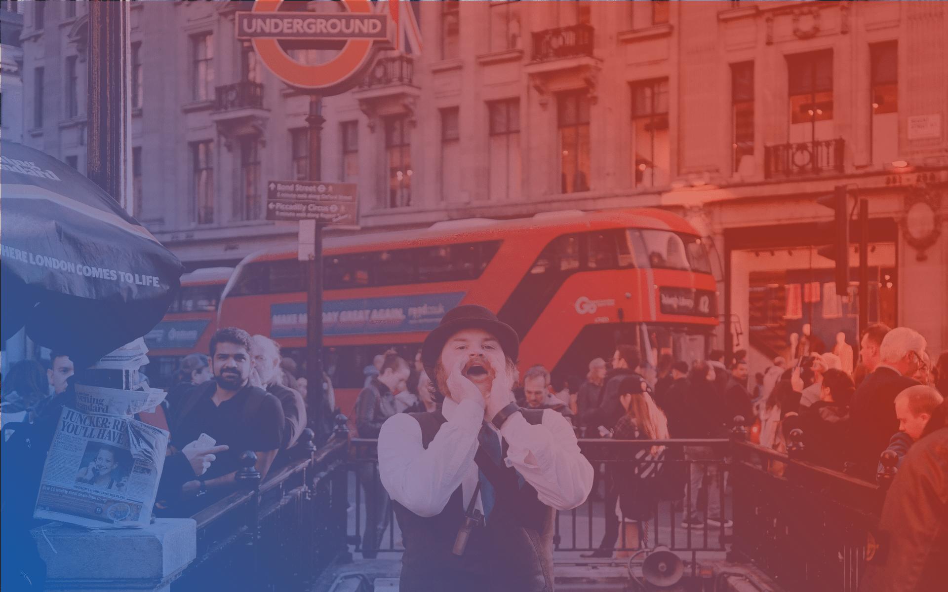 Retailtur til London