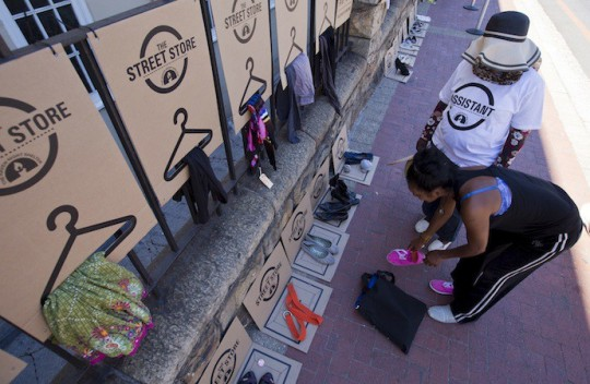 First Ever Street Store Initiative opens in Cape Town