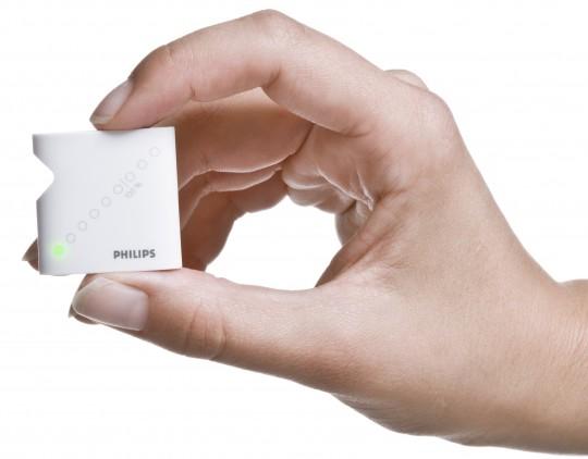 Philips Direct Life er en lille og transportabel måde at overvåge sin sundhed på. (Foto: Philips)